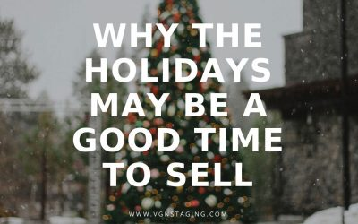WHY THE HOLIDAYS MAY BE A GOOD TIME TO SELL