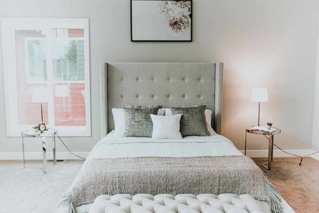 Master bedroom staging Seattle Washington